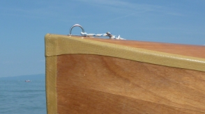 Bufflehead Sailing Canoe, Detail